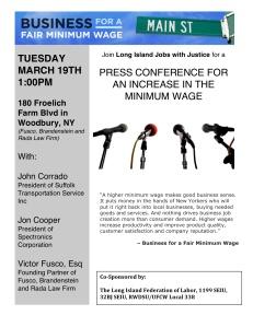 Minimum Wage-Business Press Conference-3.19.13
