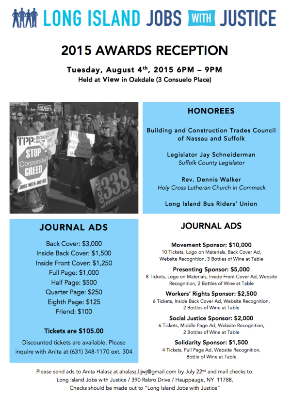 2015 LIJwJ Reception Flyer